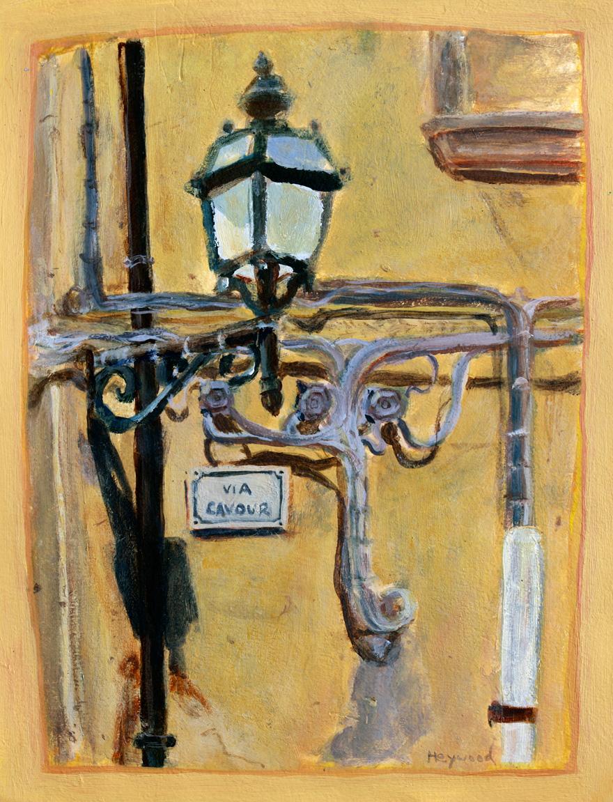Lamppost-in-Arcidosso-+-Artshow