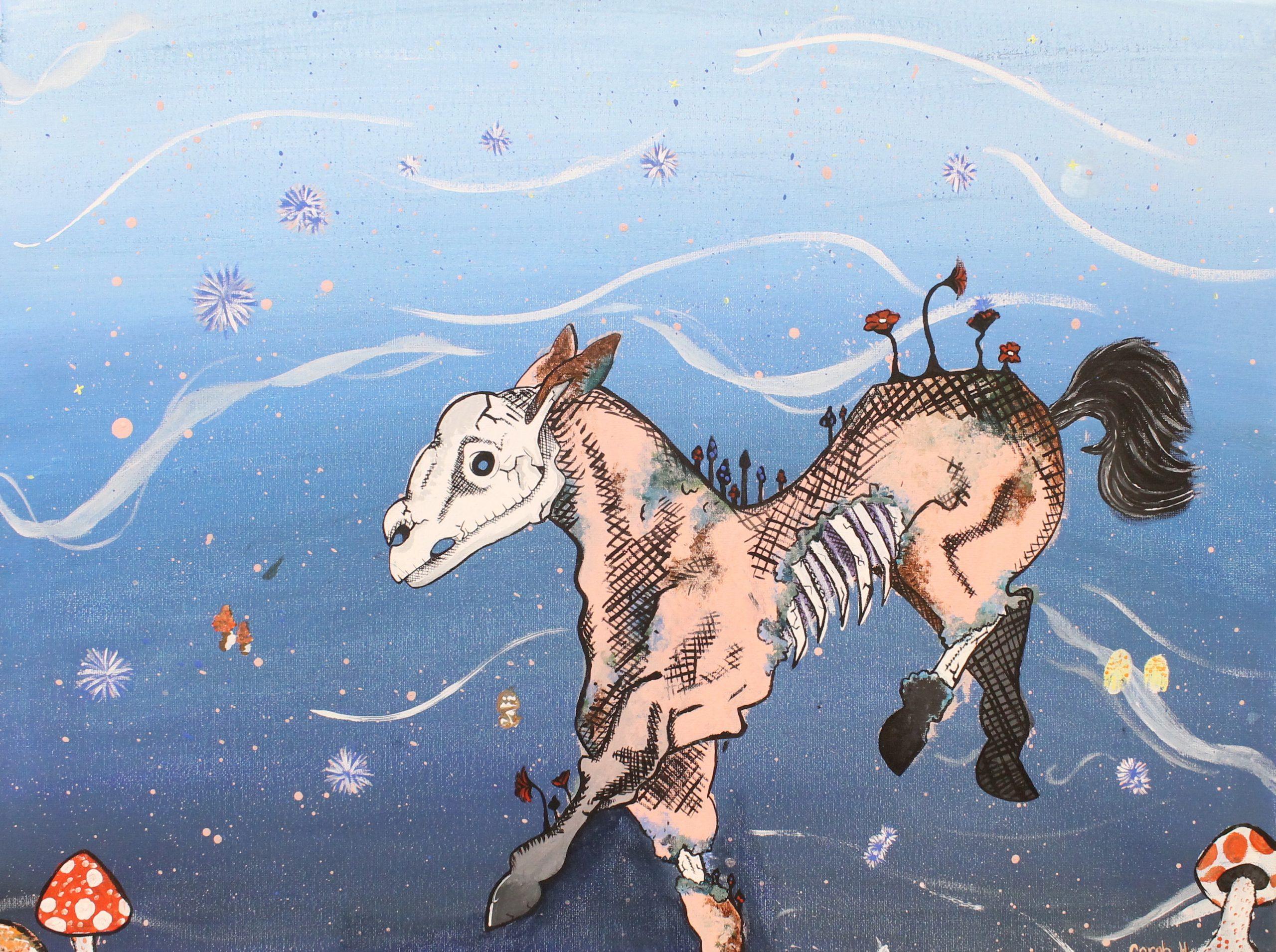Of the Four Horseman, Death