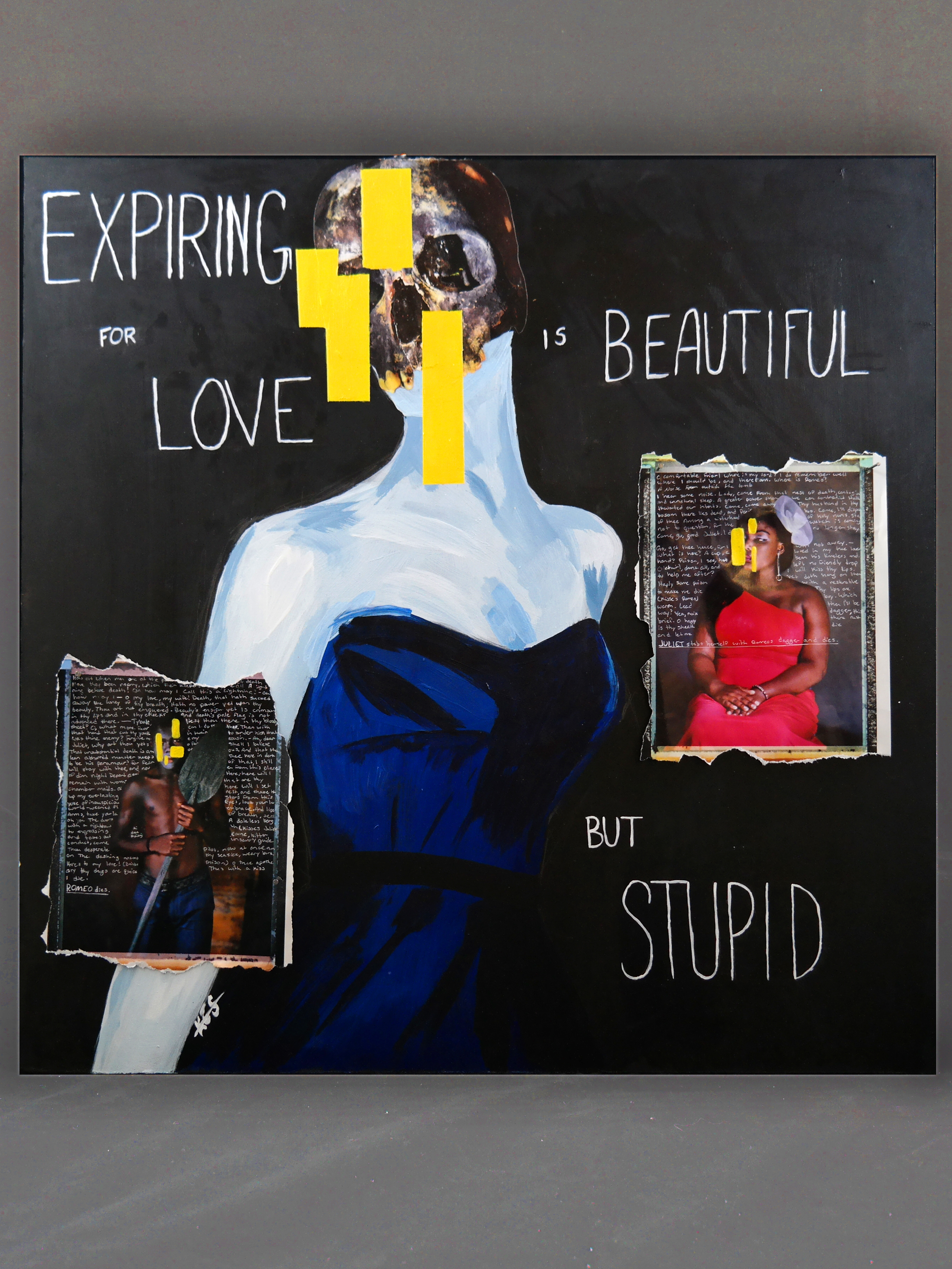 Expiring for love is beautiful but stupid.