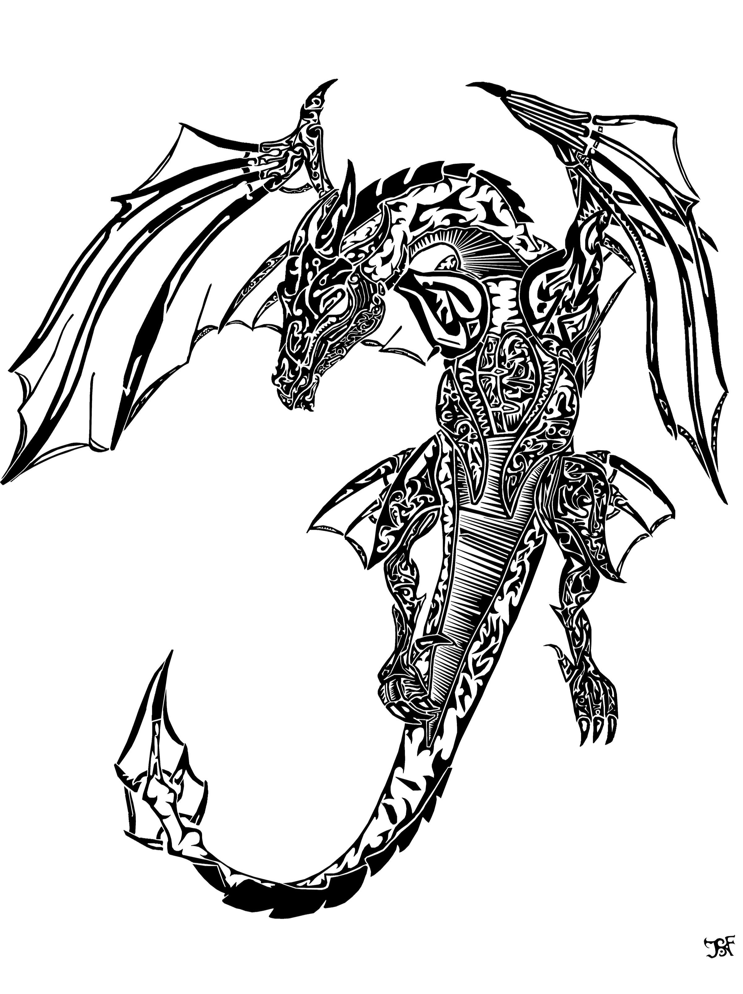 Tattoo Dragon