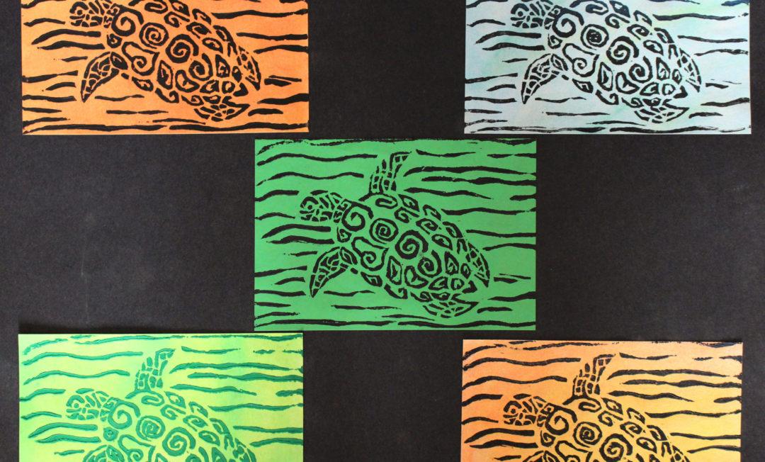A Turtle's Print