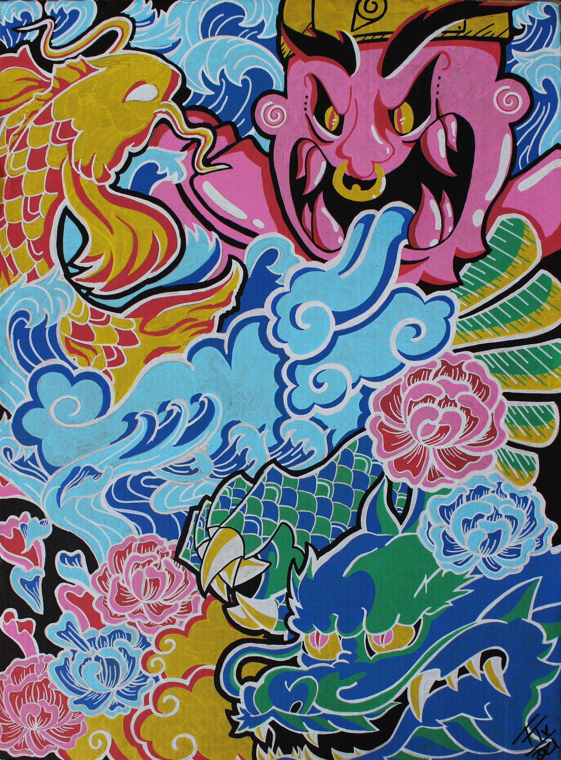 Colors of the Yakuza
