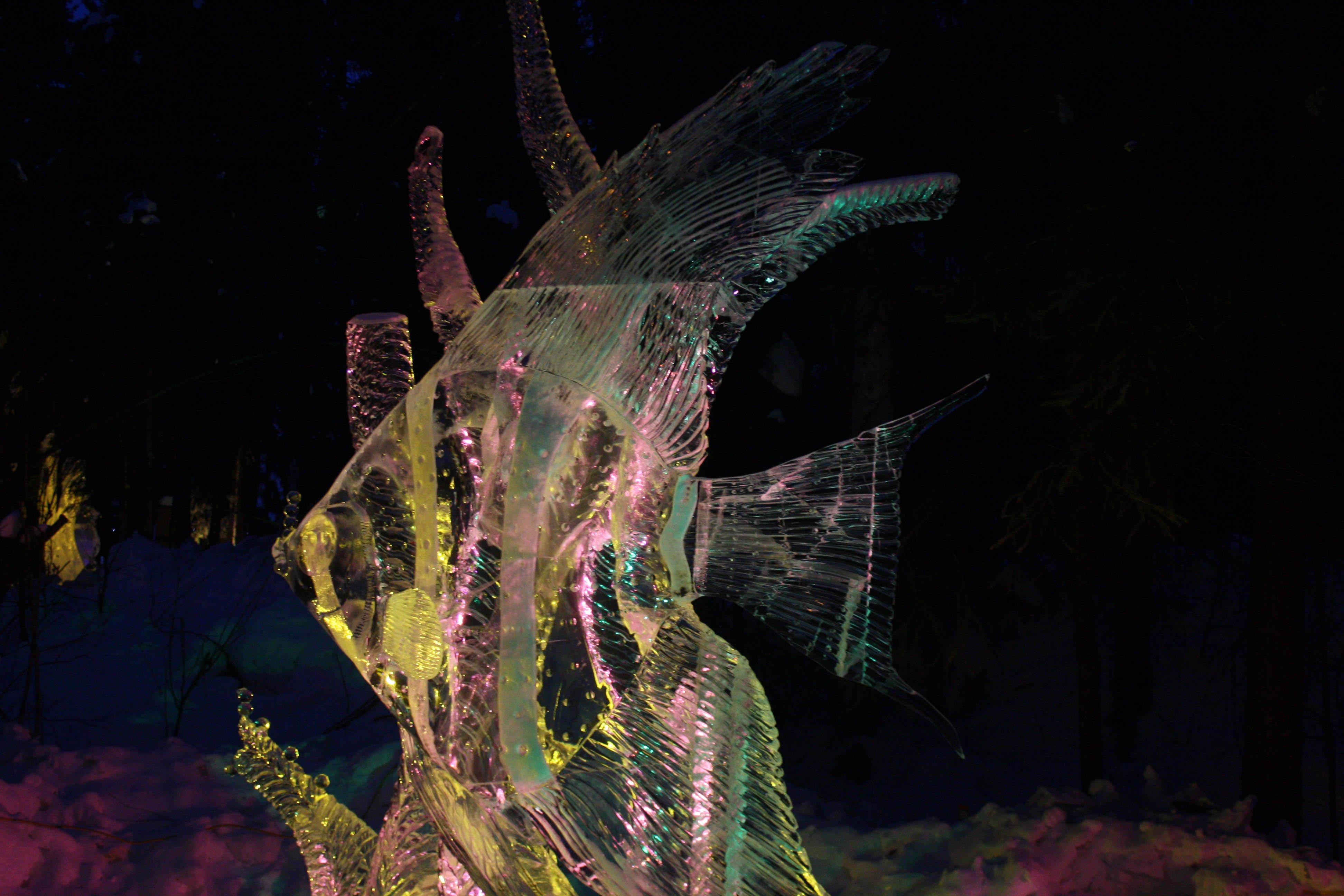 Fish Ice Sculpture