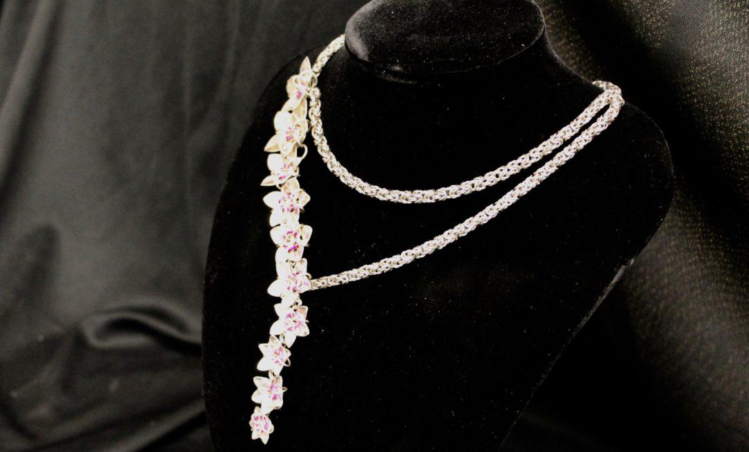 Cherry blossem necklace