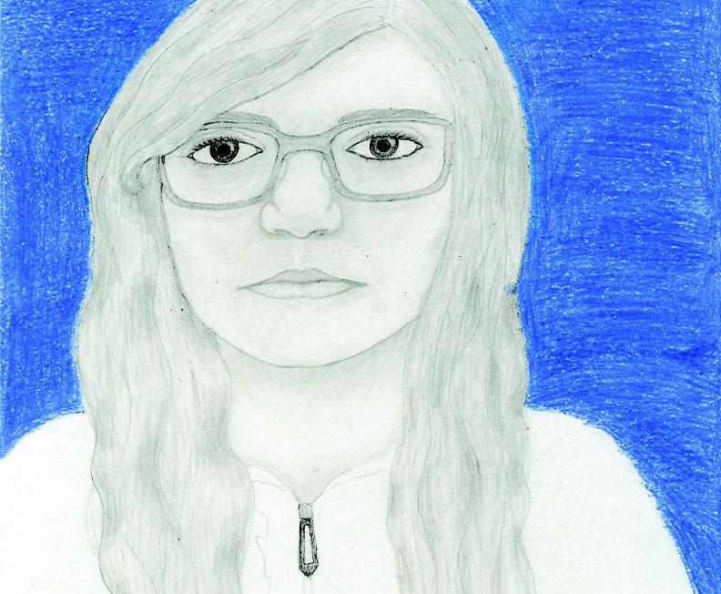 Am I Blue (Self-portrait)