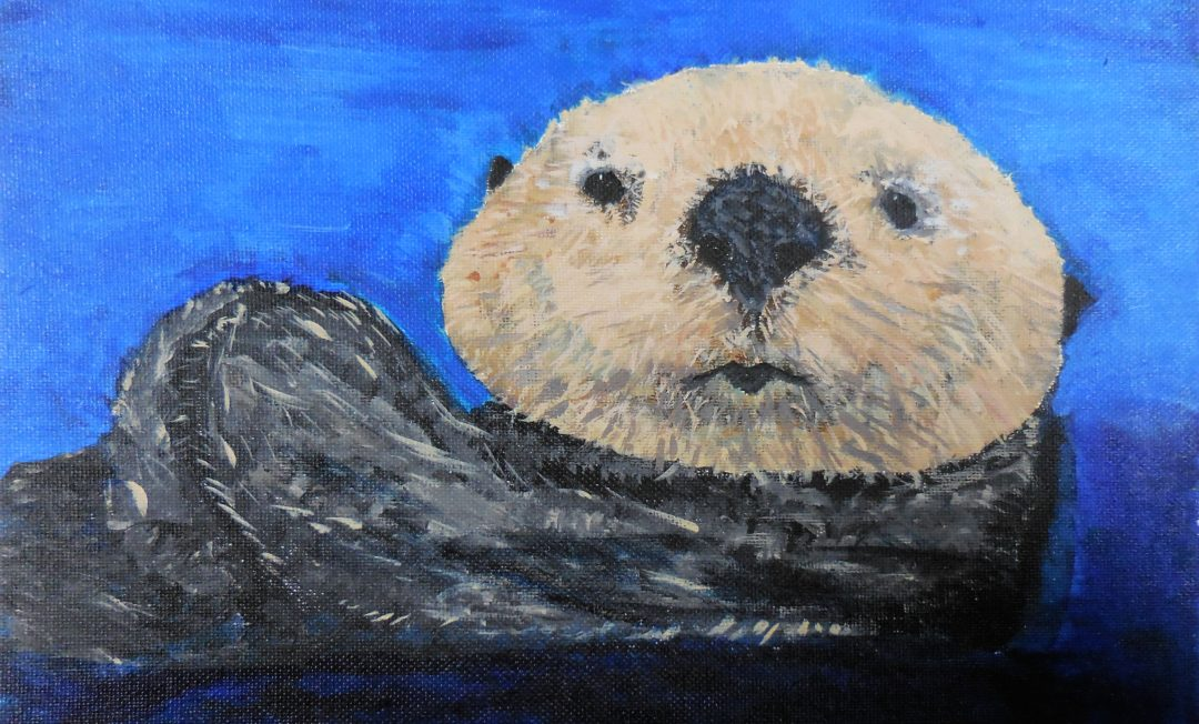 The Otter in the Water