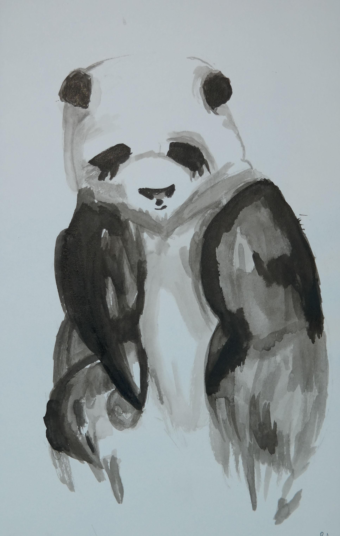 Depressed Panda