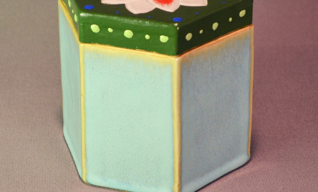 Six Sided Flower Box